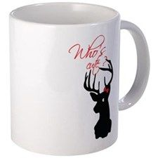 Who's cute ? 11 oz Ceramic Mug Who's cute ? Mugs by Adrianne_Desire - CafePress Cute Mugs, Mug Designs, Cold Drinks, Drinkware, Vivid Colors, Coffee Mugs, Ceramics, How To Make, Gifts