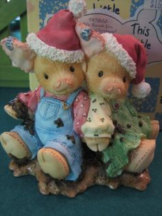 "This Little Piggy by Enesco--""We Squish You A Merry Christmas!""--Couple In Mud Figurine (145866) This Little Piggy http://www.amazon.com/dp/B009W9XI8G/ref=cm_sw_r_pi_dp_p7h9ub1SPPY6N"