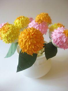 Cakepop flowers!
