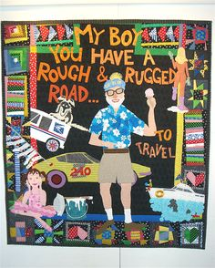 Rough and Rugged Road...a tribute to my father by Nancy Arseneault
