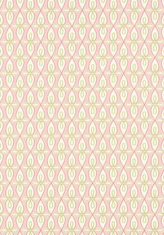Bribie #wallpaper in #pink from the Resort collection. #Thibaut