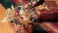 This  single step festive snack mix is ready in just 10 minutes and is perfect to  gift  or serve at Christmas.