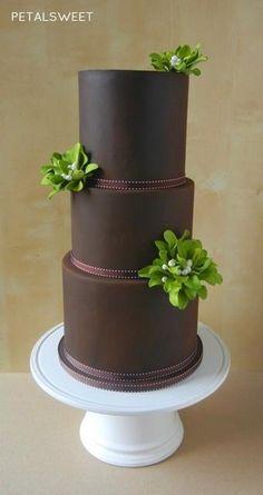 Mistletoe Cake 2014 - Cake by Petalsweet