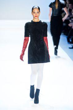 Favourite LBD at Charlotte Ronson New York Fashion Week Fall 2012.