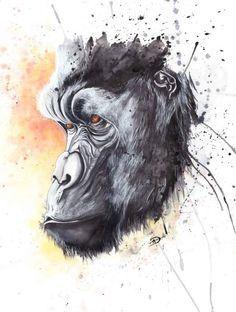 gorilla like