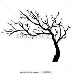 Drawn Tree Silhouette 14 Fp Decoration Idea In 2019 Pinterest