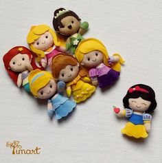 Apostila Princesas Disney Pocket. Adquira a sua na loja oficial (clique em visitar ou acesse www.timart.com.br)