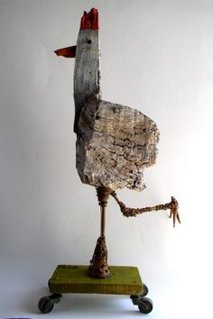 #so65 #ene mene meste poule,sculpture,gérard collas,carennac