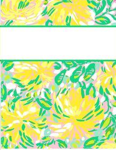 My Cute Binder Covers | Happily Hope