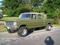 """77 F350 Crew Cab 4x4 