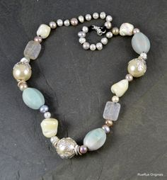 Gemstone Knotted Necklace
