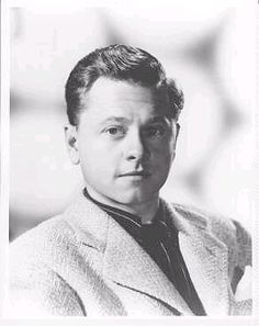 """Mickey Rooney (né Joseph Yule, Jr.) (1920-2014) Sgt. USA 1944-45 WW II. Left a successful acting career and served with Patton's 3rd Army. Earned a Bronze Star among other decorations. Best remembered for title role in the Andy Hardy series in the 1930s, """"National Velvet"""" (1941) and """"The Black Stallion"""" (1979)."""