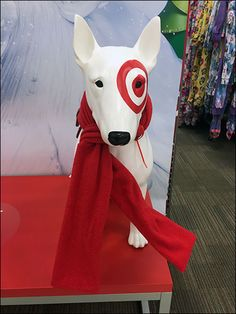 The scarf as propping was not my interest, rather the ability to find one in precisely Targets® branded red color. Not all reds are created equal, as any colorist or brand manager will tell you. Scarf Knots, Brand Management, Red Color, Target, Store, Disney Characters, Tent, Larger, Business