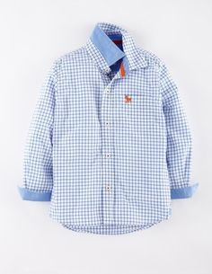 Laundered Shirt (Mini Boden 1.5-12y)