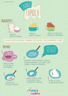 Saindo Tapioca #tapioca #fit #receitas