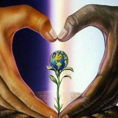 Love the earth - it's in our hands.