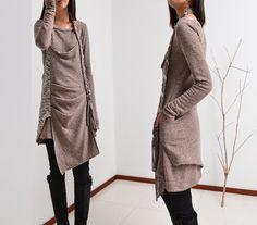 Long long braids  vagabond cotton tunic dress por idea2lifestyle
