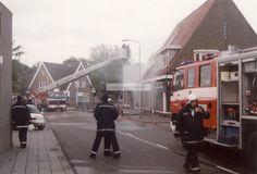 Brand (aangestoken) bij ijzerhandel Zweers aan de Eiermarkt in Hardenberg. | Mijn Stad Mijn Dorp