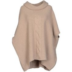 FABIANA FILIPPI Turtleneck (7 615 UAH) ❤ liked on Polyvore featuring tops, sweaters, sand, turtle neck sweater, short sleeve sweater, turtleneck top, short sleeve tops and short sleeve turtleneck sweater