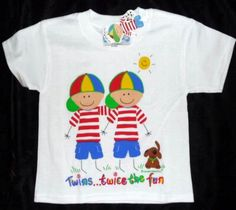 Twin Boys T Shirt