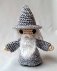 Image result for gandalf amigurumi knitting pattern