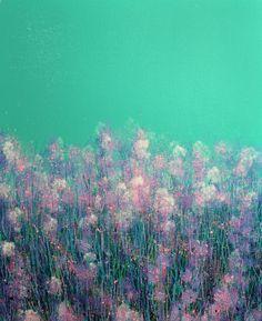 Pink Spring Flowers by Marc Todd | Artfinder #Spring #Flowers #Pastel #Painting