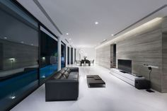 Diseño de la sala de casa moderna