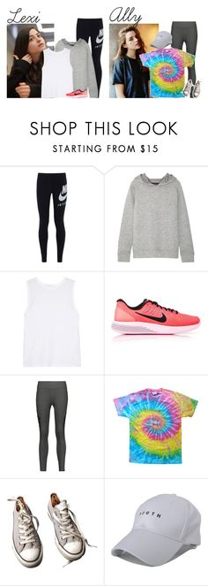 """Wednesday // Horse Back Riding, Zip Lines Tour and Souvenirs Shopping // 4/12/17"" by graywolf422 ❤ liked on Polyvore featuring NIKE, Bodyism, Live the Process, Koral, Converse and tahanfam"
