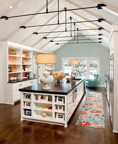Vaulted Ceiling With Collar Ties Design Ideas, Pictures, Remodel and Decor