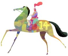 10 Year of the Horse Illustrations to Celebrate Lunar New Year #horse #lunarnewyear