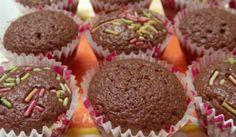 Κεϊκάκια σοκολάτας με 3 μόνο υλικά! Εύκολη συνταγή