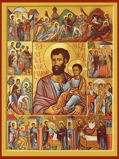 Icône de Saint Joseph