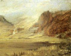 Paysage de montagne par Ozias Leduc Art Inspo, Sculptures, Museum, Drawings, Painting, Canadian Horse, Watercolor Painting, Artist, Painting Art