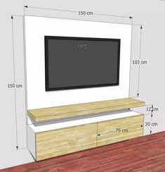 Meuble Tv Angle, Living Room Tv Unit, Living Room Decor, Living Room Designs, Be… – Typical Miracle Bedroom Tv Unit Design, Living Room Tv Unit Designs, Tv Wall Design, Tv In Bedroom, Partition Design, Tv Design, Design Ideas, Tv On Wall Ideas Living Room, Tv Wall Unit Designs