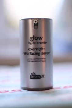 Product spotlight, reviews Dr Brandt Glow overnight resurfacing serum