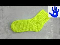 """Häkeln - Socken aus der """"Masche to go"""" Häkelsocken - YouTube"""