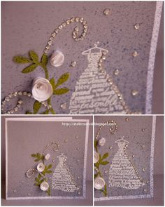 Beatiful! wedding, cinderella, stampin'up, card