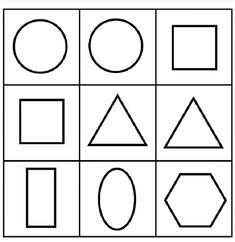 Geometric Shapes Coloring Pages Kindergarten 700x720