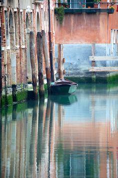 Reflections of Venice, Italy