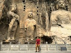 Excuse me po. A-aura lang po.   The Longmen Grottoes (龙门石窟) is a UNESCO World Heritage Site that houses tens of thousands of statues of Buddha. Located 12 kilometres south of present-day Luòyáng City, China.   #tigerair #tigerairtakesyouthere #tigerairXzhengzhou