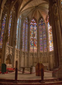 Carcassonne  France - location of one of the church scenes. BEEN THERE!!!...but I didn't get to go inside.