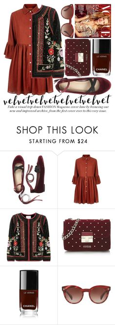 """CRUSHING ON VELVET #3"" by noraaaaaaaaa ❤ liked on Polyvore featuring Mela Loves London, Velvet, Oliver Peoples and velvet"
