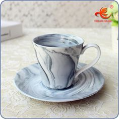 Wkt026mg Marble Color Italian 150ml Ceramic Coffee Cup Cups Corrugated Product On Alibaba
