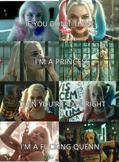 harley quinn, suicide squad, and joker image – World Of Games Joker Frases, Joker Quotes, Movie Quotes, Harly Quinn Quotes, Harley And Joker Love, Harley Quinn Drawing, Margot Robbie Harley Quinn, Dc Memes, Badass Quotes