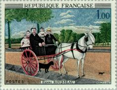 Stamp%3A%20Henri%20Rousseau%20(1844-1910)%20The%20father's%20cart%20Juniet%20(France)%20(Art)%20Yt%3AFR%201517%2CMi%3AFR%201575%2CSn%3AFR%201172%2CAFA%3AFR%201607%20%23colnect%20%23collection%20%23stamps