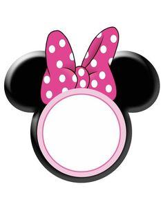 Mickey and Minnie printables Mickey Y Minnie, Minnie Mouse Pink, Mickey Party, Minnie Mouse Party, Mickey Mouse Classroom, Disney Classroom, Decoration Minnie, Mickey Mouse Birthday, Disney Scrapbook