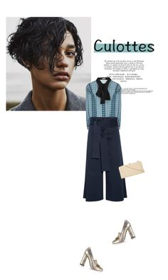 """Untitled #356"" by duoduo800800 ❤ liked on Polyvore featuring Miu Miu, TIBI, Gucci, Dorothy Perkins, TrickyTrend and culottes"