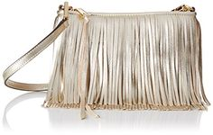 Obsessing over this cognac-colored fringe bag. Rebecca Minkoff Finn Cross Body…