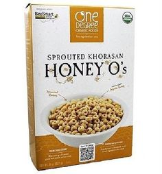 One Degree Organic Foods Odof Khorasn Honey O's (6x8 Oz)