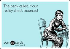 I wonder if all her checks bounce